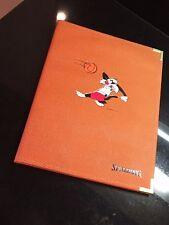 SYLVESTER Rare SPALDING Binder Basketball Material 1996 Folder Jordan