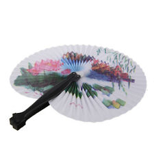 Paper Hand Fan Folding Wedding Party Favor S4V9