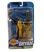 "NBA Basketball Series 17 Kobe Bryant (Yellow Jersey) L.A Lakers 7"" Figure MVP 18"