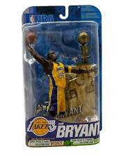 "NBA Basketball Series 17 Kobe Bryant (Yellow Jersey) L.A Lakers 7"" Figure MVP 28"