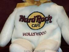 "Herrington Teddy Bears Hard Rock Cafe 8"" Peter Beara Hollywood 2001 Beanbag Plus"
