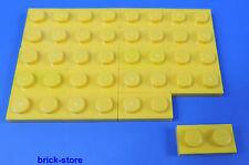 LEGO NR- 302324/1x2 plaque jaune / 20 pièces