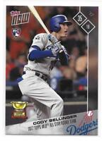 2017 Topps Now Cody Bellinger Rookie Card All-Rookie Team – Short Print!