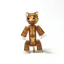 "3""Zing Stikbot Brown Cat Stik Pet  ANIMATION Single Animal Action Figure Gift"