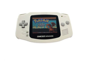 White Game Boy Advance Console GBA Console AGS-101 Brighter Backlight Screen