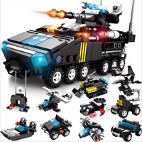 Building Blocks War Police Kids Figure Children Anime Toys Dekoration 10 in 1