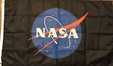 NASA Flag 3x5 Space Banner Astronaut Spaceship Satellite Planets