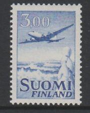 Finland - 1963, 3m Blue Air stamp - MNH - SG 679