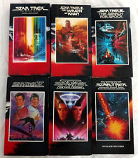 Star Trek Movie Collection VHS 6 Movies Set 1980 1991 Wrath of Khan and More