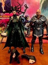 Marvel Legends Thor: Ragnarok 6-Inch-Skurge And Marvel?s Hela Figure 2-Pack