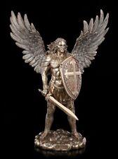 Erzengel Michael Figur mit Schild und Schwert - Veronese Engel Fantasy Deko