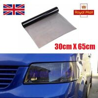 30 x 65cm Light Smoke Tinting Film For Car Registration Number Plate Tint Vinyl