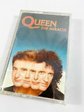 New Sealed Queen The Miracle 1989 cassette Tape Rock Freddie Mercury