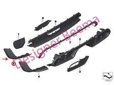 Mini F55 Cooper S Sd JCW Aero Kit Parachoques trasero negro banda inferior (JS)