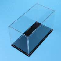 Miniature Action Figures Display Clear Cube Box Showcase Perspex 35x18x13cm