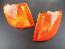 FORD SIERRA 1987-1993 FRONT INDICATOR LEFT + RIGHT SET PAIR AMBER