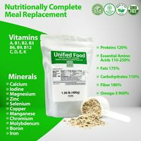 Organic Unified Food - 1 Pack (1.06 lb) Nutritionally Complete Food Powder