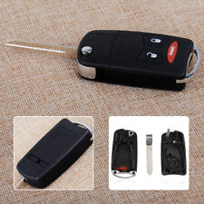 2+1 Buttons Remote Key Fob Shell Flip Case Fit For Chrysler Dodge Dakota Jeep