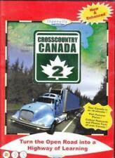 Cross Country Canada 2 PC MAC CD learn Canadian map tour places geography game!
