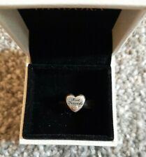 Genuine Pandora Charm Best Friends Heart