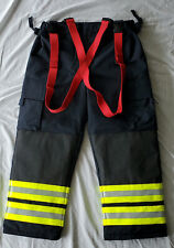 Firefighter Turnout Pants Trousers Black Nos