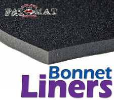 FATMAT URETHANE BONNET LINER Car/Van/Camper/Boat Hood Sound Heat Foam Insulation
