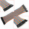 For Arduino Breadboard Male to Female Dupont Wire Jumper Cable 40pcs 20cm Good