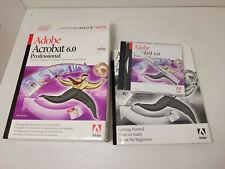 Adobe Acrobat 6.0 Professional Mac Détail complet CD + serial num