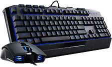 Cooler Master Devastator II Blue LED Backlit USB Gaming Keyboard & Mouse UK