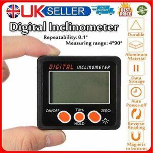 Magnetic Digital Inclinometer Level Box Gauge Angle Meter Finder Protractor GB~