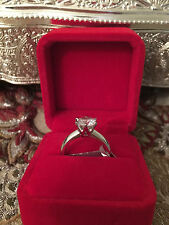2 CT ROUND CUT DIAMOND SOLITAIRE ENGAGEMENT RING 14K WHITE GOLD ENHANCED 5
