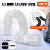 0.8M Car Exhaust Pipe Hose Tube Air Vent Parking Diesel Heater Car Heater Fan