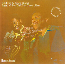 "B.B. KING & BOBBY ""BLUE"" BLAND TOGETHER FOR THE FIRST TIME LIVE CD in Jewel Case"