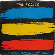 """THE POLICE STING EVERY BREATH YOU TAKE / MURDER BY NUMBERS 1983 7"""" 45 RPM PS NM"""