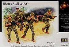 Master Box 1/35 US Marine Corps infantería Tarawa noviembre 1943 # 3543 @