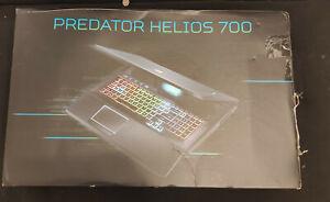 """Acer Predator Helios700 PH717-72E 17,3"""" i7-10875H RAM16 Go SSD512Go SATA1To NEUF"""