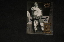 HOF DICKIE MOORE 1999 UD LEGENDS SIGNED AUTOGRAPHED CARD #31 CANADIENS