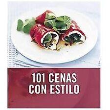 101 cenas con estilo/ 101 Smart Suppers (Spanish Edition)-ExLibrary