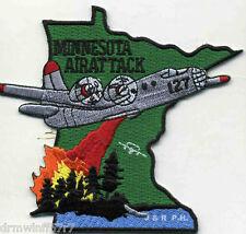 "Wildland - Minnesota Air Attack  (4"" x 3.5"" size) fire patch"