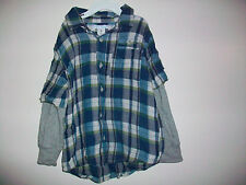 Boys Size 5T Old Navy 100% Cotton Button Down Long Sleeve Top