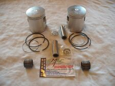 yamaha 240 250 500 tdr tzr rdlc rd500lc rz rd lc kit pistons prox 57,15 mm neuf