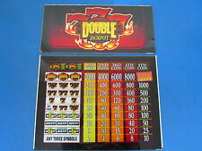 "Bally Gaming Inc. ""777"" Double Jackpot Casino Slot Machine Glass"