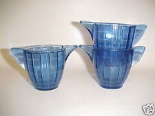 Akro Agate LARGE CONCENTRIC RING Child Tea Set T-Pot Base ( s ) 2 Available