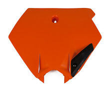 UFO MOTOCROSS KTM SX SXF 03-06 FRONT NUMBER PLATE 3075 ORANGE