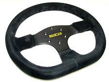 Sparco Steering Wheel - R353 (330mm/36mm Dish/Flat Bottom/Suede)