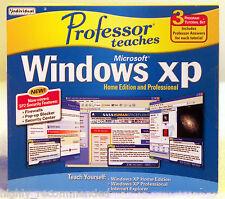 Professor Teaches Microsoft Windows XP & Internet Explorer - New/Sealed