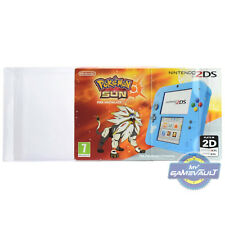 1 x BOX PROTECTOR for Nintendo 2DS Console Strong 0.5mm PLASTIC DISPLAY CASE