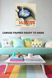Art Print Vintage le grand illusion painting Canvas movie  wall decor  framed