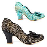 Irregular Choice Disco Dreams Retro Art Deco 1920s Gatsby Flapper Vintage Shoes