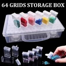 64 boîte de rangement de grille pour la peinture diamants broderie de diamant FR